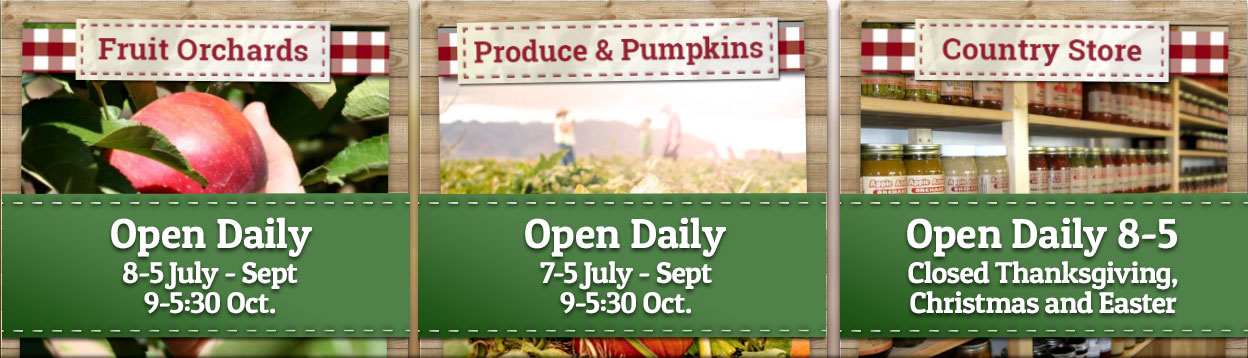 Apple Annie's Pick-your-own Fruit Orchards, Produce Farm, and
